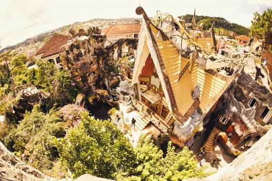 Ý tưởng xây dựng biệt thự du lịch Hằng Nga - Crazy House